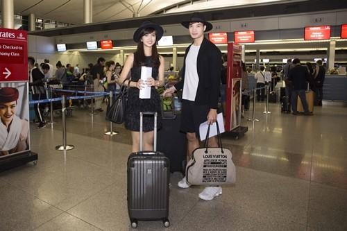 """Kim Tuyến bị fan """"bủa vây"""" giữa đêm tại sân bay - anh 13"""
