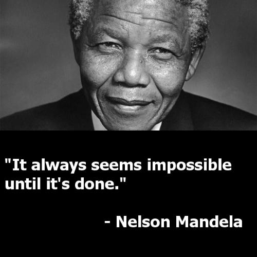 20 câu nói truyền cảm hứng của 'huyền thoại' Nelson Mandela - anh 2