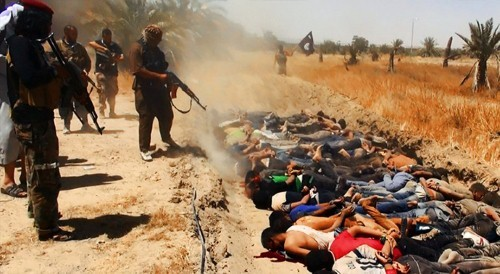 Khủng bố IS hành quyết 300 người ở Iraq - anh 2