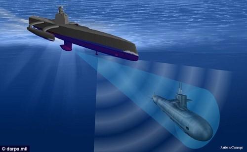 """Mỹ chế tạo tàu ngầm """"thợ săn ma"""" truy tìm tàu ngầm tàng hình - anh 2"""