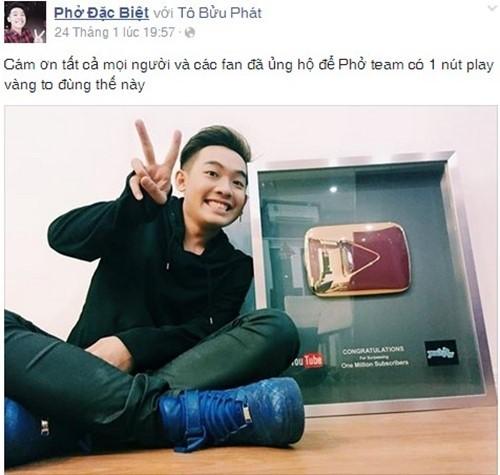 Vlogger JVevermind nhận giải thưởng khủng từ YouTube - anh 6
