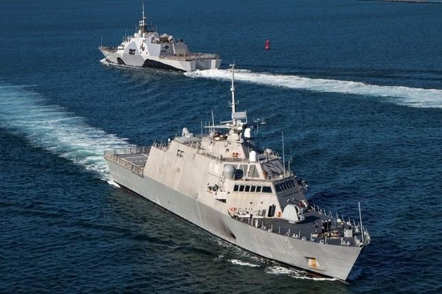 Sức mạnh chiến hạm USS Fort Worth của Mỹ trên Biển Đông - anh 3