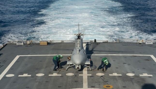 Sức mạnh chiến hạm USS Fort Worth của Mỹ trên Biển Đông - anh 7