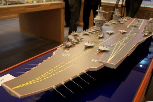Nga chế tạo siêu tàu sân bay uy lực lớn nhất thế giới - anh 2