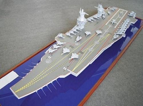 Nga chế tạo siêu tàu sân bay uy lực lớn nhất thế giới - anh 1