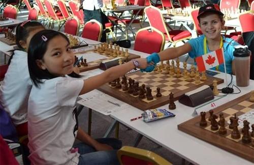 Bé gái người Việt đạt giải vô địch cờ vua U12 tại Đức - anh 4
