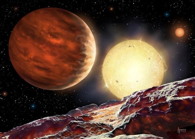 Cậu bé 15 tuổi phát hiện hành tinh mới nóng như sao Mộc - anh 1