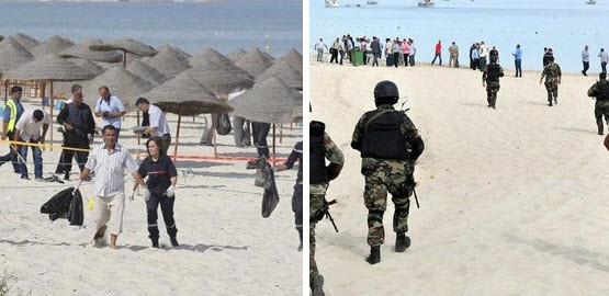 Khủng bố IS xả súng điên cuồng tại Tunisia, gần 40 người chết - anh 1