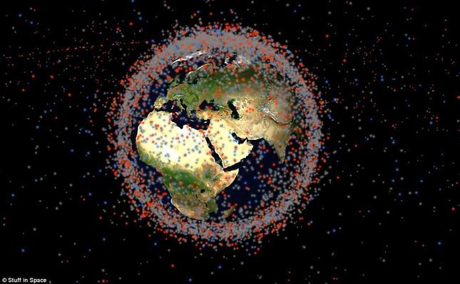 NASA: Quỹ đạo Trái đất đang là một bãi rác khổng lồ - anh 2