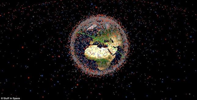 NASA: Quỹ đạo Trái đất đang là một bãi rác khổng lồ - anh 3