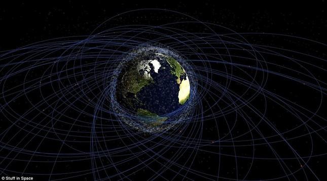 NASA: Quỹ đạo Trái đất đang là một bãi rác khổng lồ - anh 4
