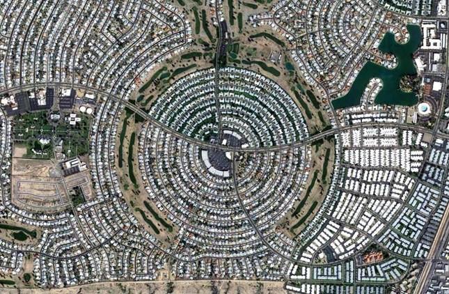 Bộ ảnh: Những 'Kỳ quan' thế giới nhìn từ trên cao - anh 11