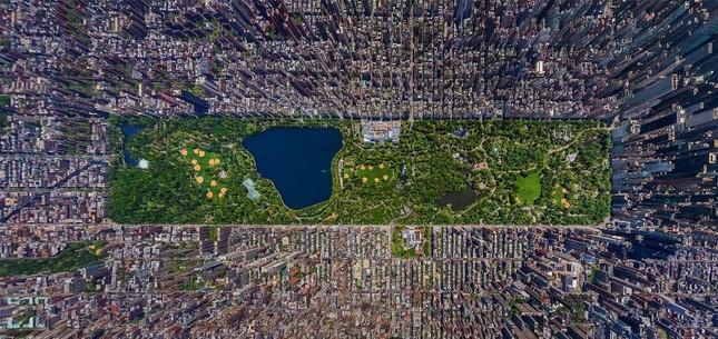 Bộ ảnh: Những 'Kỳ quan' thế giới nhìn từ trên cao - anh 13