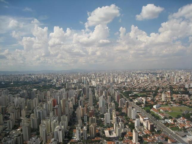 Bộ ảnh: Những 'Kỳ quan' thế giới nhìn từ trên cao - anh 17