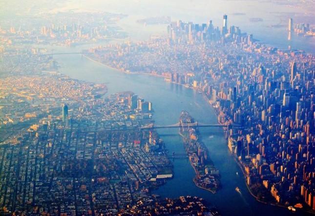 Bộ ảnh: Những phong cảnh tuyệt đẹp của Trái đất nhìn từ trên cao - anh 6