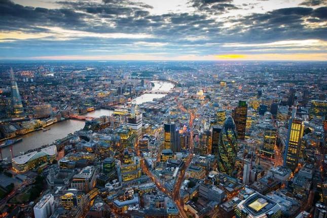 Bộ ảnh: Những phong cảnh tuyệt đẹp của Trái đất nhìn từ trên cao - anh 9