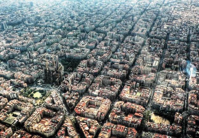 Bộ ảnh: Những 'Kỳ quan' thế giới nhìn từ trên cao - anh 6