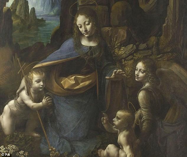 Nét hấp dẫn bí ẩn trong tranh của danh họa Leonardo da Vinci - anh 3