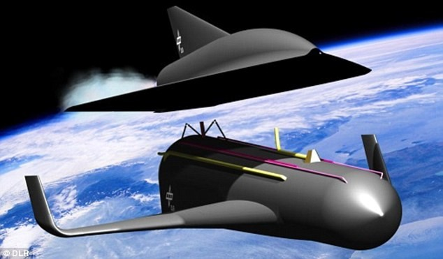 Năm 2035: Đức xuất xưởng siêu máy bay nhanh 20 lần tốc độ âm thanh - anh 1