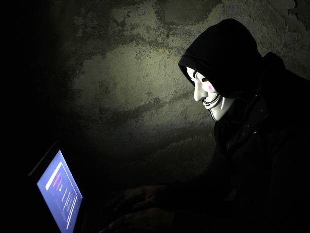 """8 cuộc tấn công mạng """"phi lợi nhuận"""" của siêu hacker Anonymous - anh 1"""