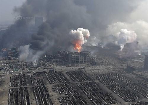 Những điểm đáng ngờ trong các vụ nổ liên hoàn ở Trung Quốc - anh 1
