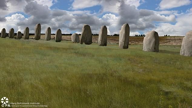 Phát hiện dãy đá cổ khổng lồ, niên đại 4.500 năm gần Stonehenge - anh 1