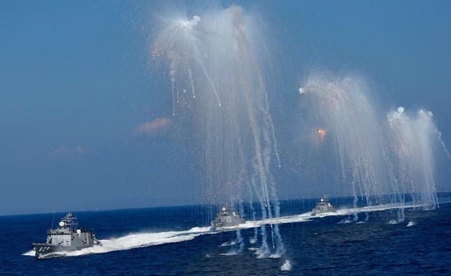 Fleet Review - Màn phô diễn sức mạnh hải quân đầy uy lực của Nhật Bản - anh 10