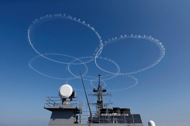 Fleet Review - Màn phô diễn sức mạnh hải quân đầy uy lực của Nhật Bản - anh 9