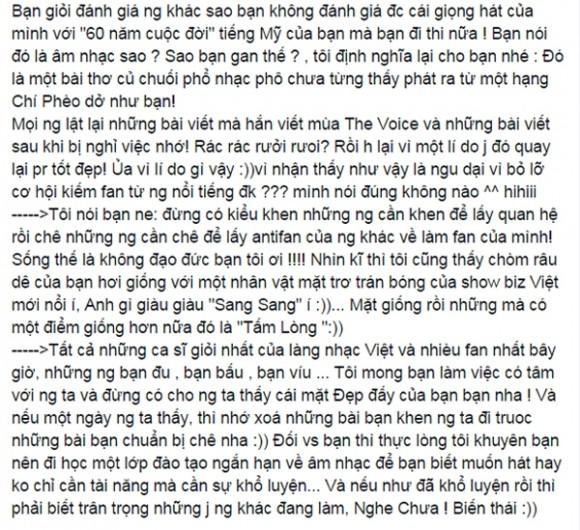 Hương Tràm lại gây 'bão mạng' vì 'cạnh khóe' thí sinh cùng thi The Voice - anh 2