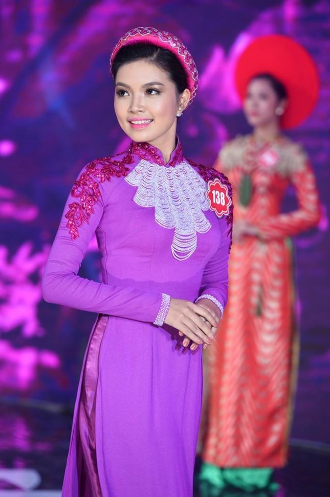 Ngắm 20 người đẹp Hoa hậu VN thướt tha trong tà áo dài - anh 5
