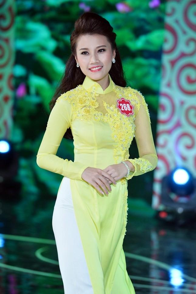 Ngắm 20 người đẹp Hoa hậu VN thướt tha trong tà áo dài - anh 6
