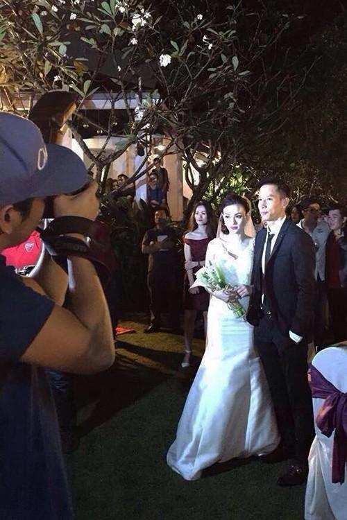Thu Thủy đã bí mật đám cưới với bạn trai lâu năm - anh 1