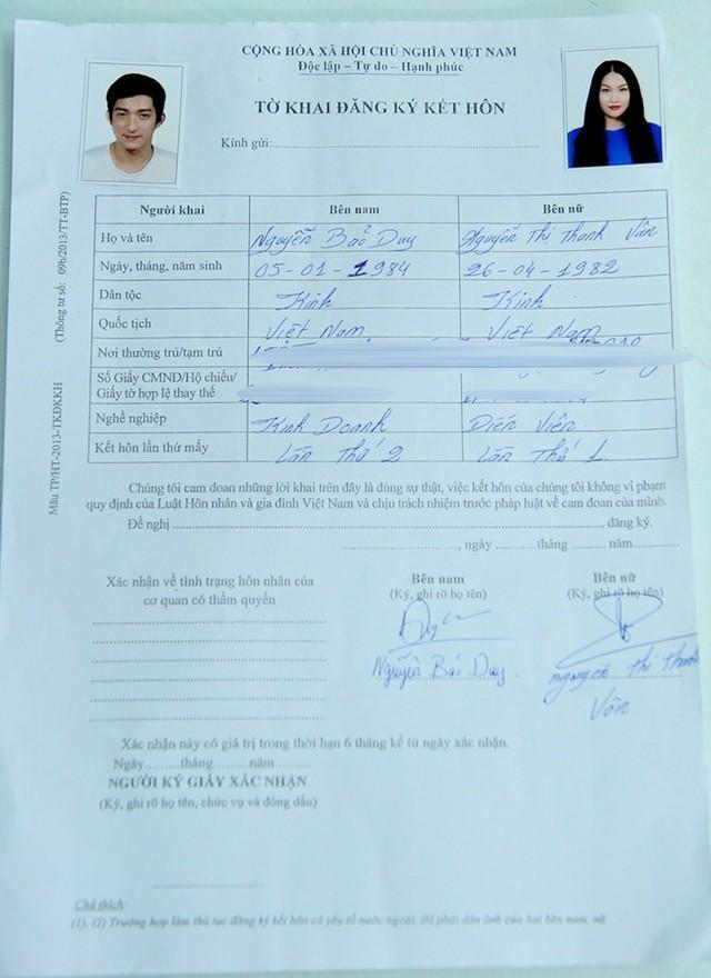 Phi Thanh Vân ôm bụng bầu 4 tháng đi đăng ký kết hôn - anh 5