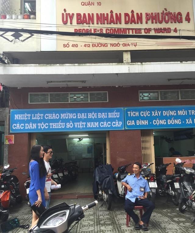Phi Thanh Vân ôm bụng bầu 4 tháng đi đăng ký kết hôn - anh 4