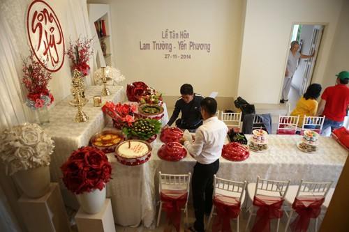 Lam Trường mặc áo dài truyền thống trong lễ ăn hỏi - anh 12