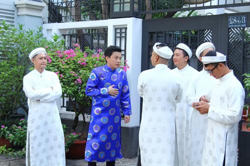 Lam Trường mặc áo dài truyền thống trong lễ ăn hỏi - anh 5