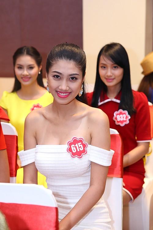 Hoa hậu Việt Nam 2014: Các thí sinh rạng rỡ trước thềm chung kết - anh 3