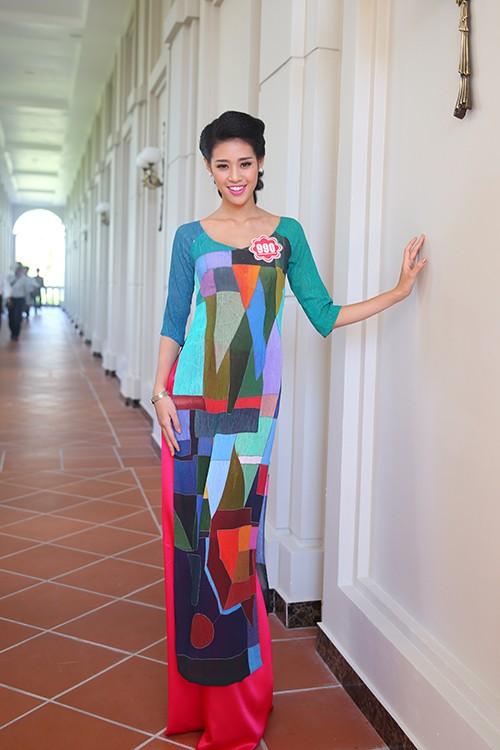 Hoa hậu Việt Nam 2014: Các thí sinh rạng rỡ trước thềm chung kết - anh 4