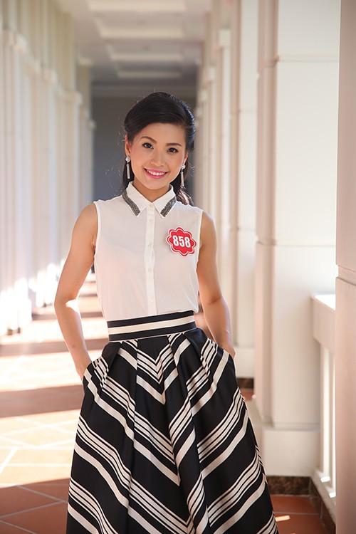 Hoa hậu Việt Nam 2014: Các thí sinh rạng rỡ trước thềm chung kết - anh 5