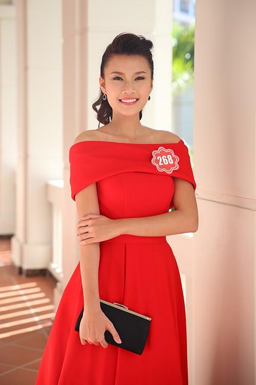 Hoa hậu Việt Nam 2014: Các thí sinh rạng rỡ trước thềm chung kết - anh 6