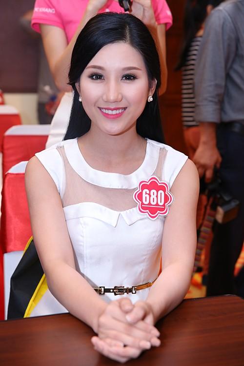 Hoa hậu Việt Nam 2014: Các thí sinh rạng rỡ trước thềm chung kết - anh 7