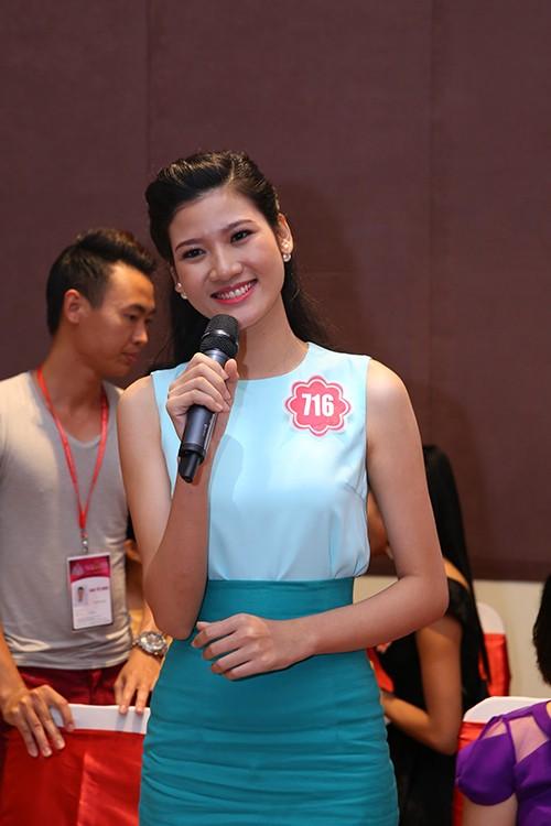 Hoa hậu Việt Nam 2014: Các thí sinh rạng rỡ trước thềm chung kết - anh 11
