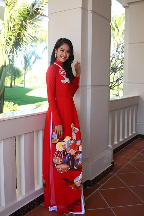 Hoa hậu Việt Nam 2014: Các thí sinh rạng rỡ trước thềm chung kết - anh 12