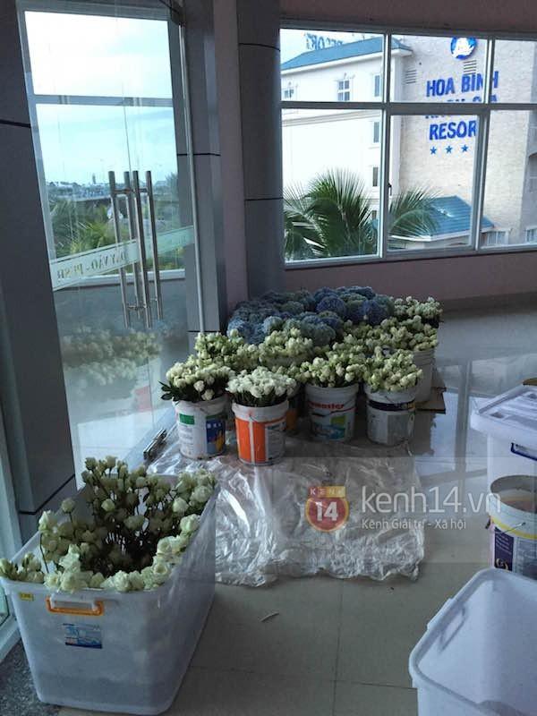 Không khí tất bật chuẩn bị cho đám cưới Công Vinh - Thủy Tiên tại quê nhà - anh 1