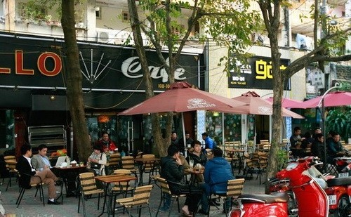 Ghé thăm những phố cafe nổi tiếng đất Hà Thành - anh 10