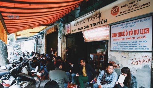 Ghé thăm những phố cafe nổi tiếng đất Hà Thành - anh 3