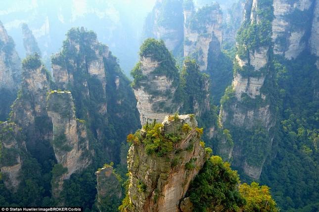 Ngắm cây cầu bằng kính cao nhất thế giới ở Trung Quốc - anh 7