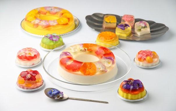 Đẹp ngỡ ngàng với những chiếc bánh hoa tươi của Nhật Bản - anh 9