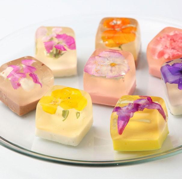 Đẹp ngỡ ngàng với những chiếc bánh hoa tươi của Nhật Bản - anh 3