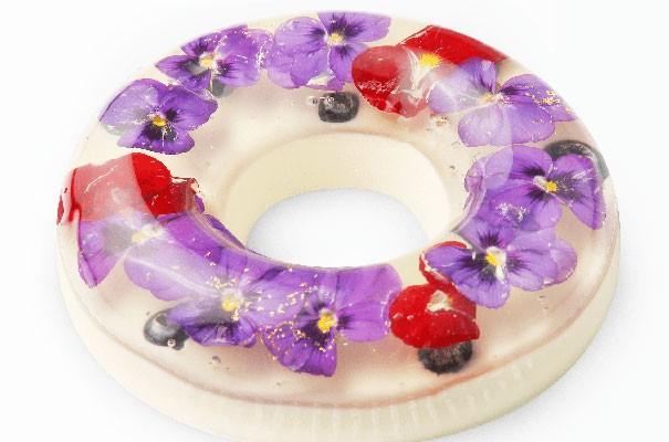 Đẹp ngỡ ngàng với những chiếc bánh hoa tươi của Nhật Bản - anh 6